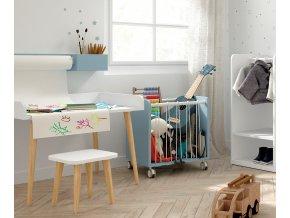 montessori vozík na hračky