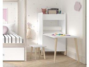 Montessori stolek s příslušenstvím