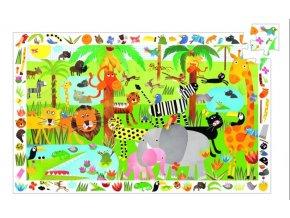 Djeco Puzzle Džungle 35 dílků