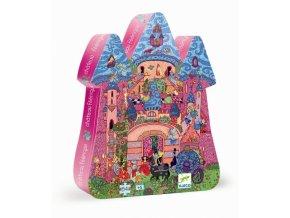 Djeco Puzzle Pohádkový hrad 54 dílků