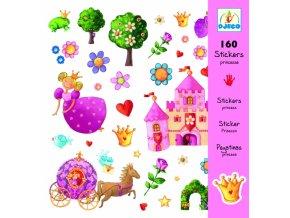 Samolepky - Princezna Margarita, Djeco