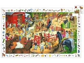 puzzle Koně, 200 dílků