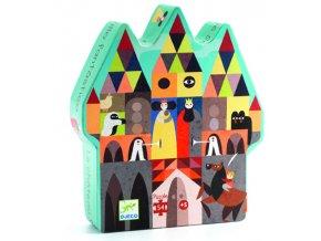 Djeco puzzle Fantastický hrad 54 dílků