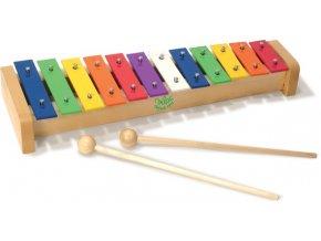 Dřevěný xylofon
