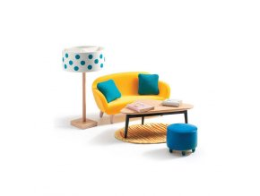 Domeček pro panenky - Obývací pokoj