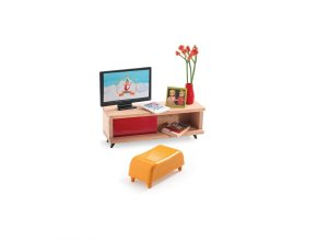 Domeček pro panenky - TV stolek