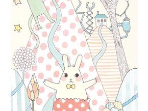 Tapeta Djeco s pastelovými zajíčky