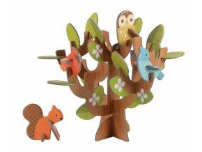 3D skládačka - V koruně stromu