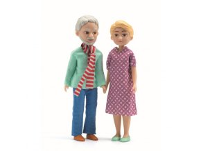 Domeček pro panenky - prarodiče
