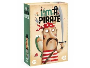 Puzzle - Já jsem pirát, 6+