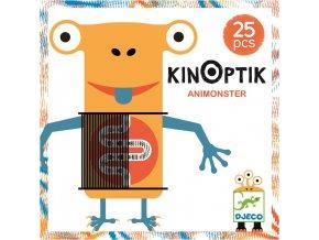 Magnetická skládačka s optickou iluzí Kinoptik - Příšerky