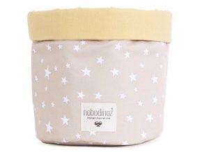 Koš Mambo velký Sand white stars