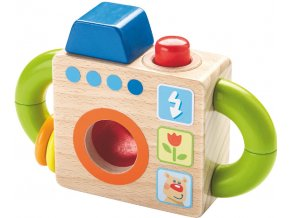 Dřevěný fotoaparát pro nejmenší