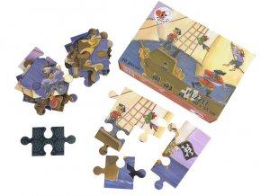 Podlahové puzzle  Piráti, 40 dílků