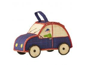 Koš na hračky autíčko