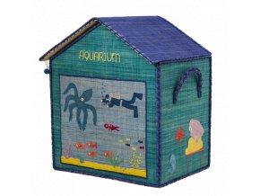 Koš na hračky Aquarium střední