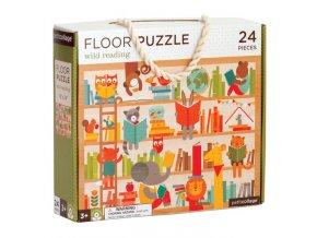 Podlahové puzzle Divoké čtení