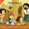 Flétničkovi - Kdo to tady bručí? - kniha s CD
