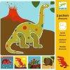 Kreslící šablony Dinosauři