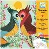 Výtvarná hra - Ptáci - iris folding