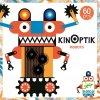 Magnetická skládačka s optickou iluzí Kinoptik - Roboti (poškozený obal)