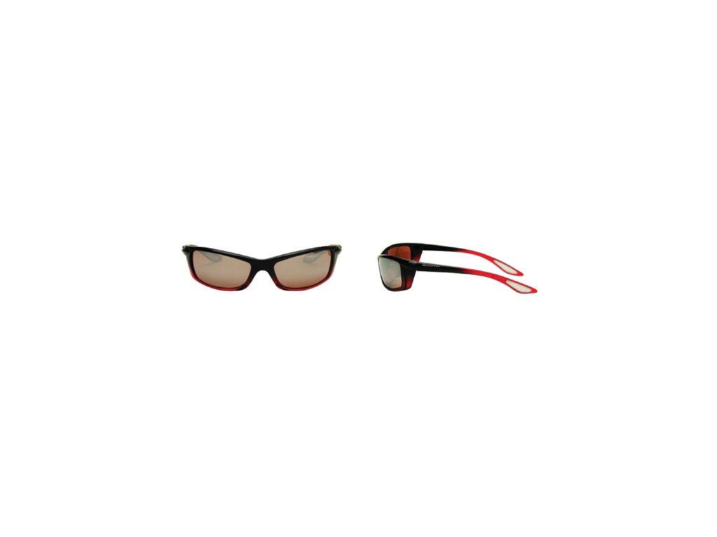 Sluneční brýle Blizzard A413 G313 red/black