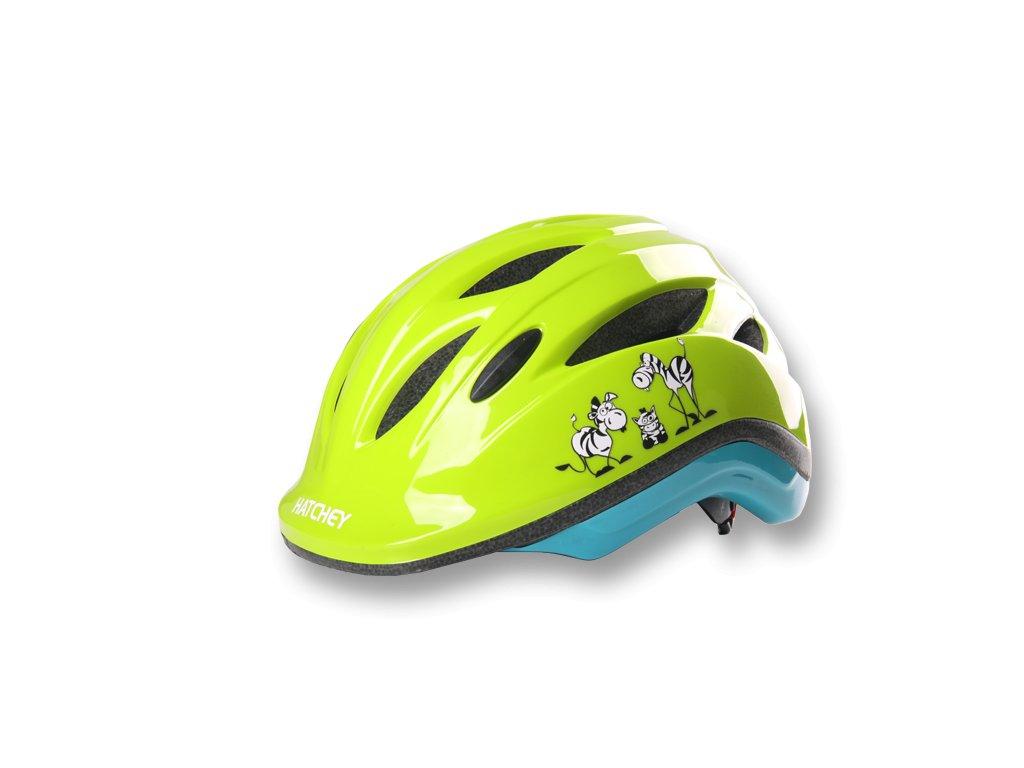 Cyklistická helma Hatchey Zebra