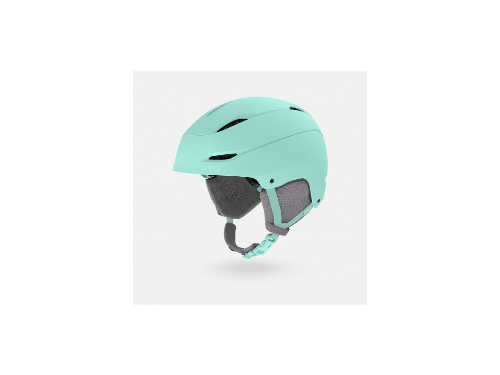 giro ceva womens snow helmet matte frost hero 1