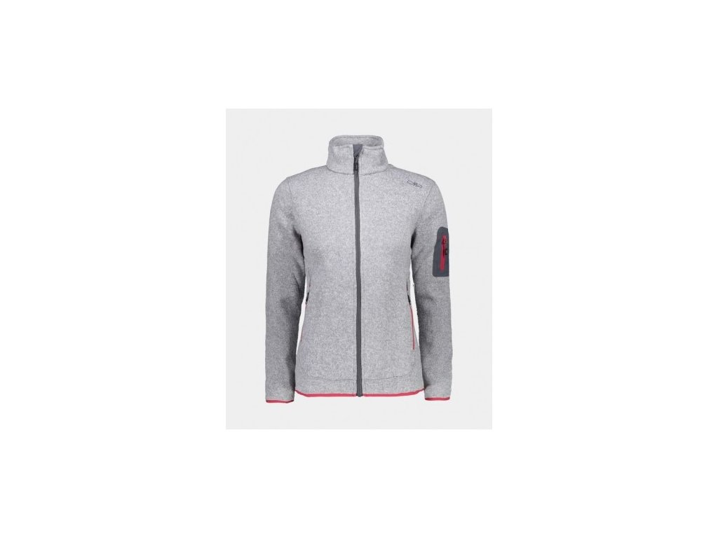 cmp woman jacket 3h14746 argento bianco 15ud