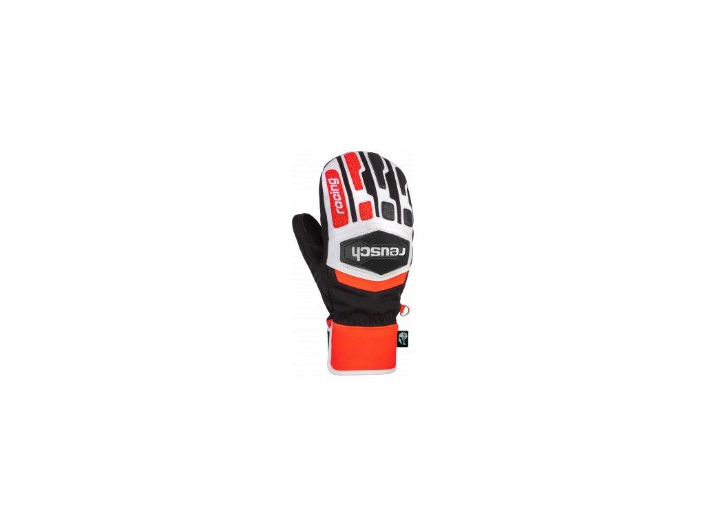 Reusch Worldcup Warrior R TEX® XT Mitten 6011533 7810 white black red front