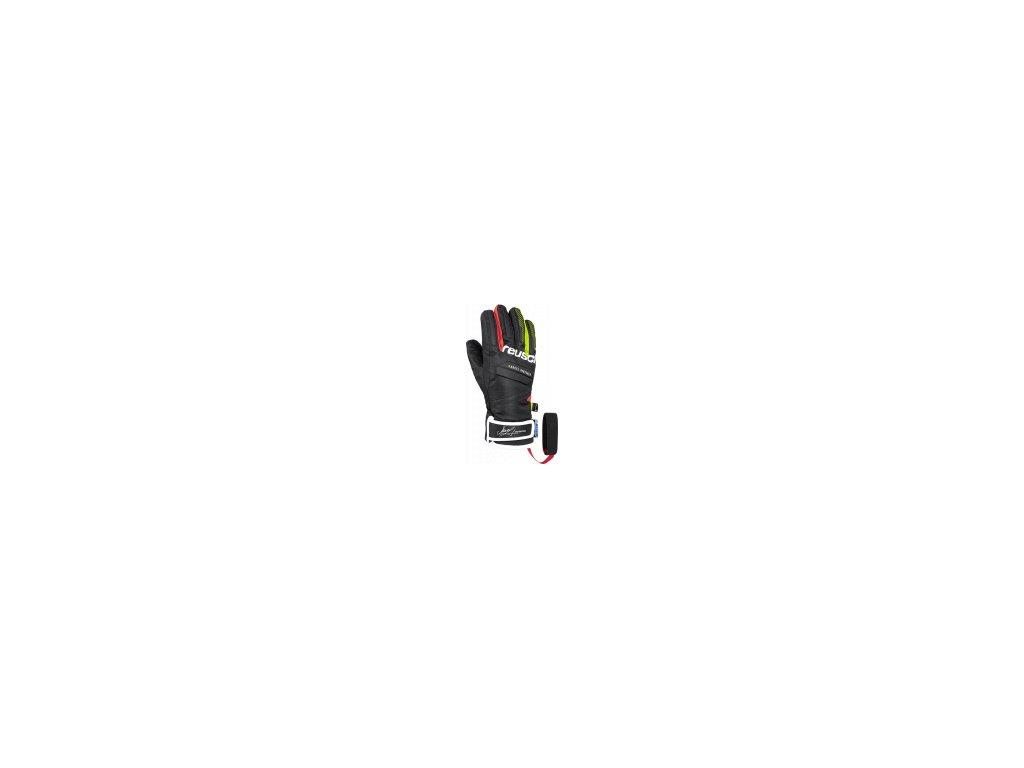 Reusch Marcel Hirscher R TEX® XT Junior 4961211 7705 black red front