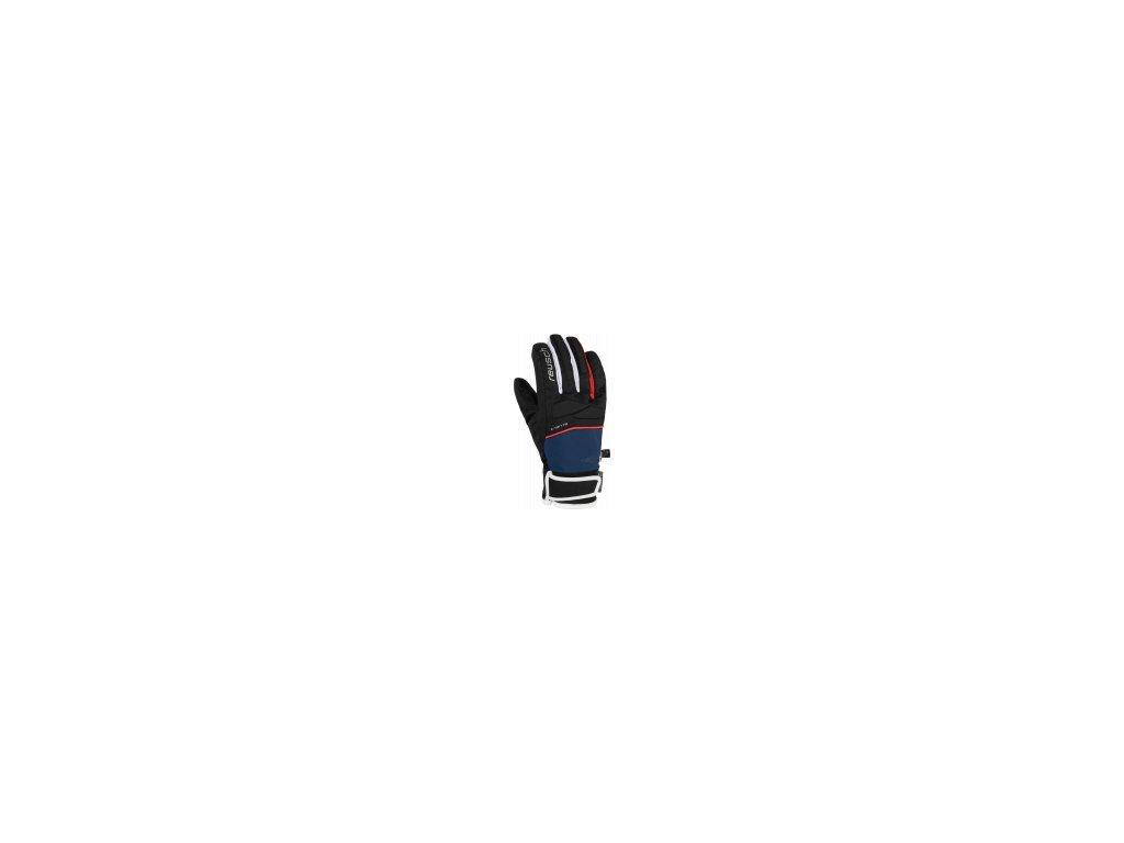 Reusch Mikaela Shiffrin R TEX® XT Junior 6061245 7787 black blue front
