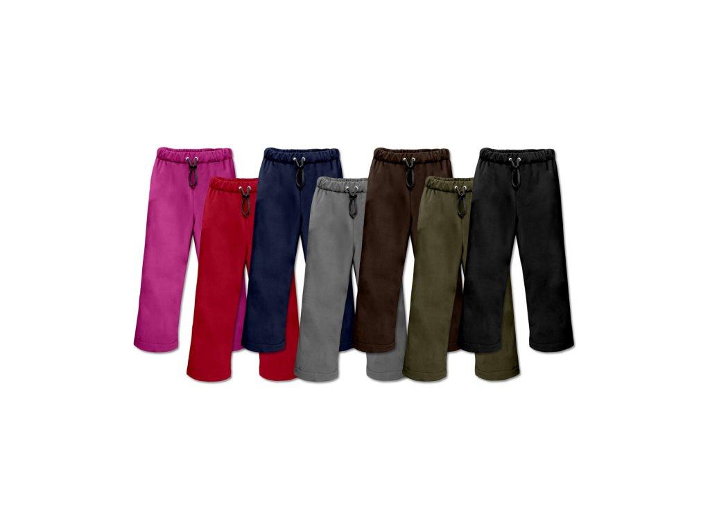 Kalhoty Poutout softshell dětské 10000/3000