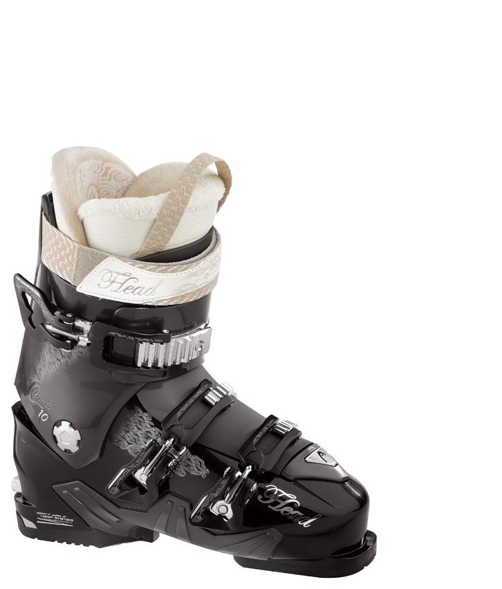 Lyžařské boty Head Cube3 10 MYA Barva: černá/antracit, Velikost: 250