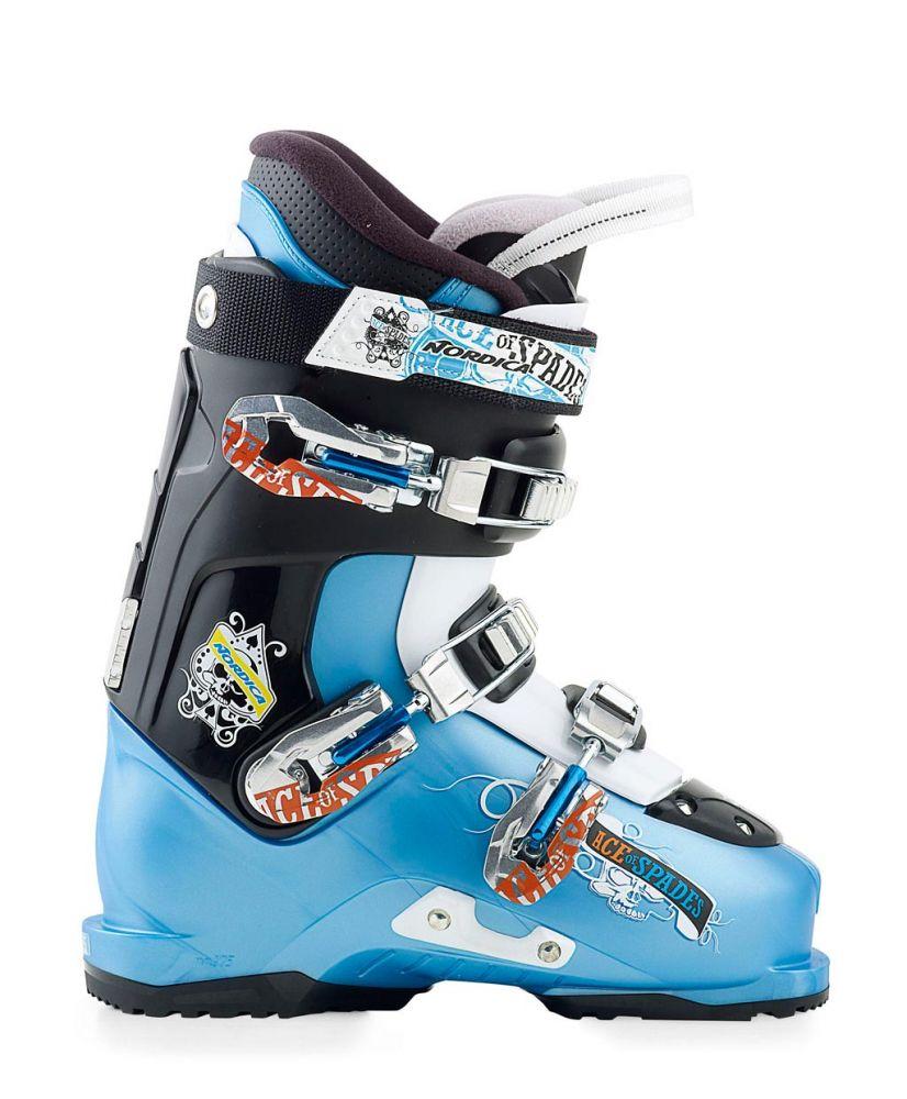 Lyžařské boty Nordica Ace of Spades Team Barva: světle modrá, Velikost: 250