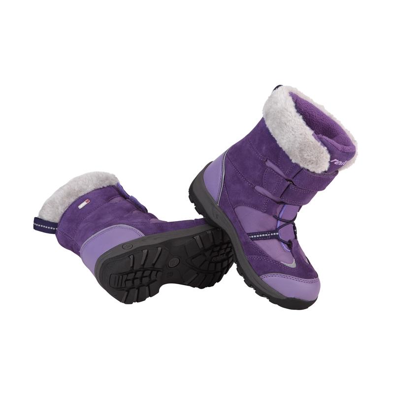 Zimní boty Reima Curve Barva: fialová, Velikost: 29