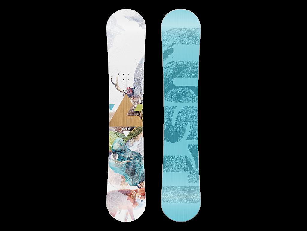 Snowboard Lusti Freestyle Cap Viva Barva: 140cm