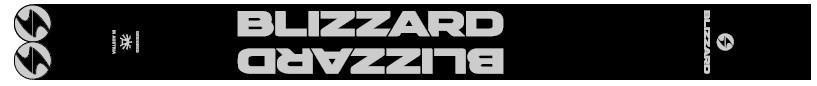 Hole Blizzard Sport Délka: 125cm