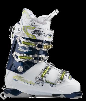 Lyžařské boty Tecnica Viva Demon 100 Air shell Barva: modrá/bílá, Velikost: 255