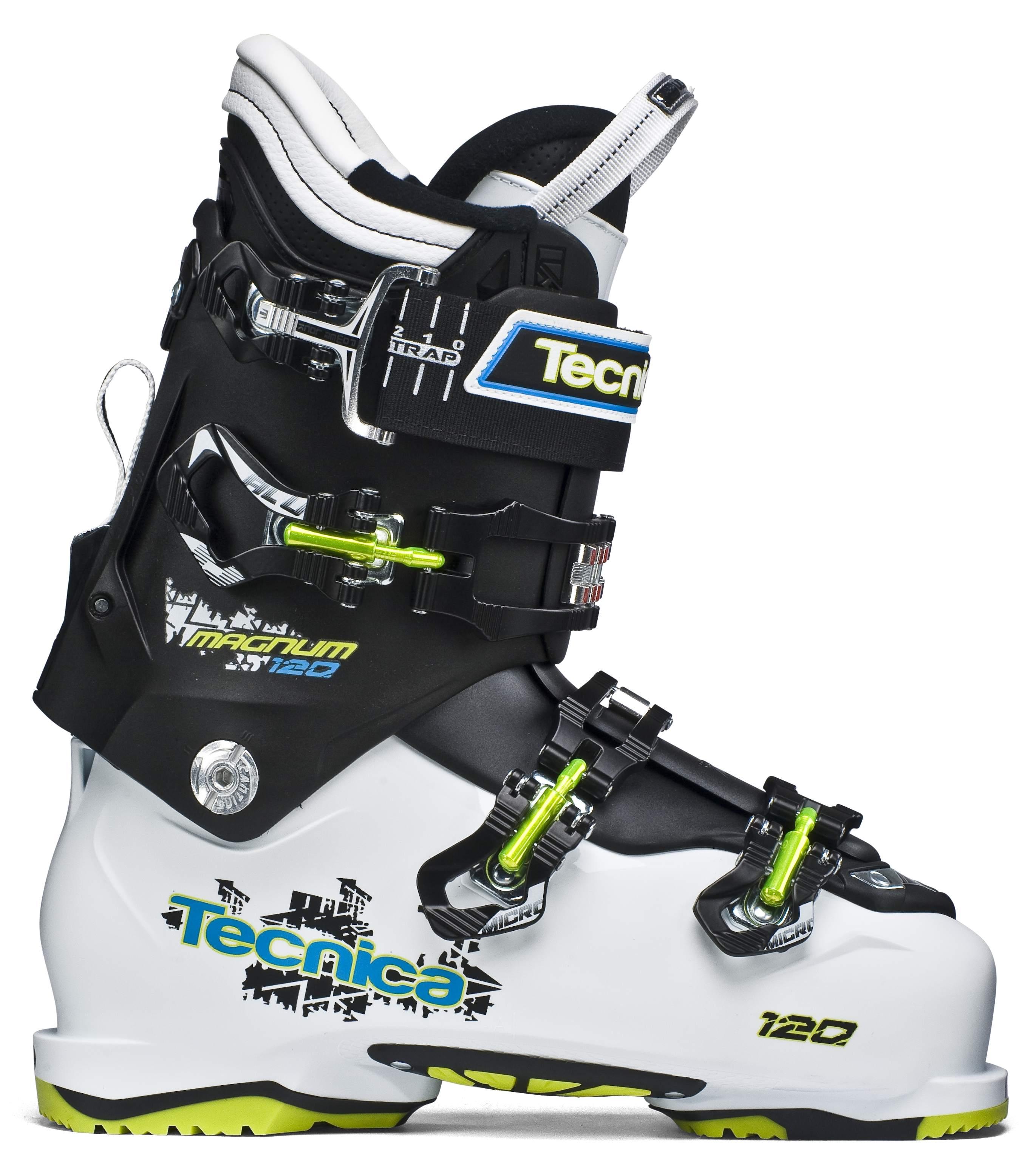 Lyžařské boty Tecnica Magnum 120 HVL Barva: bílá/černá, Velikost: 275