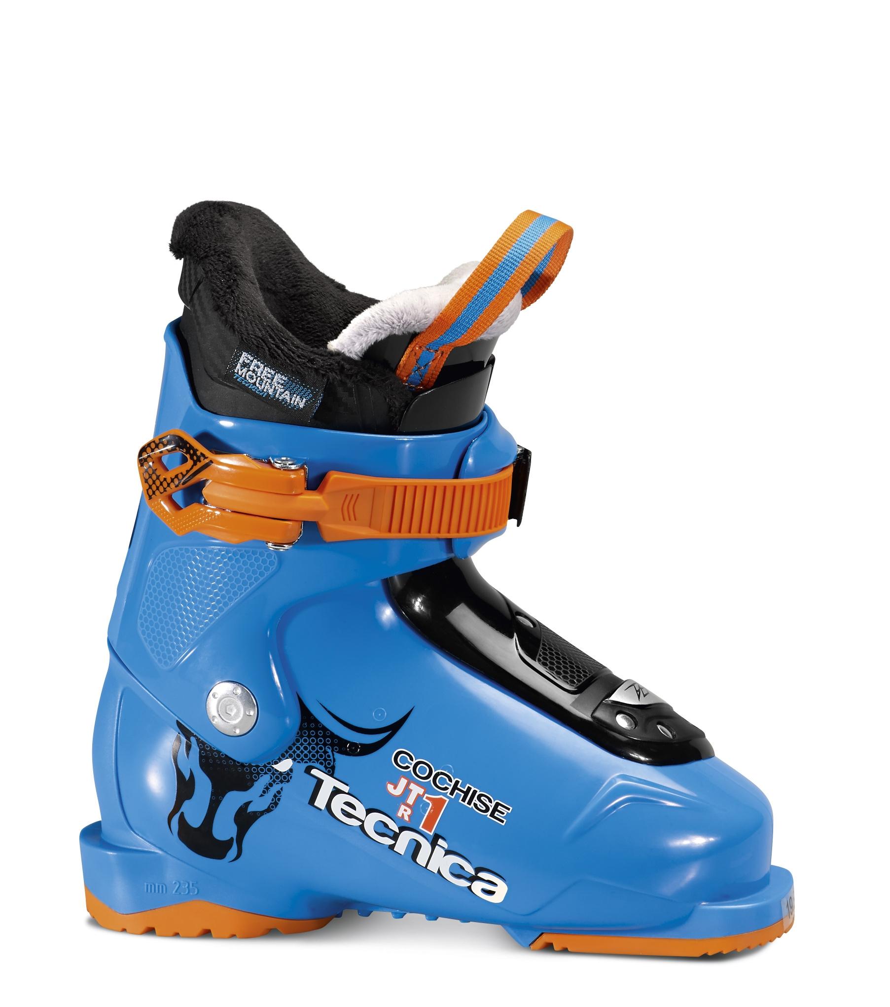Lyžařské boty Tecnica JTR 1 Cochise Barva: Modrá, Velikost: 185