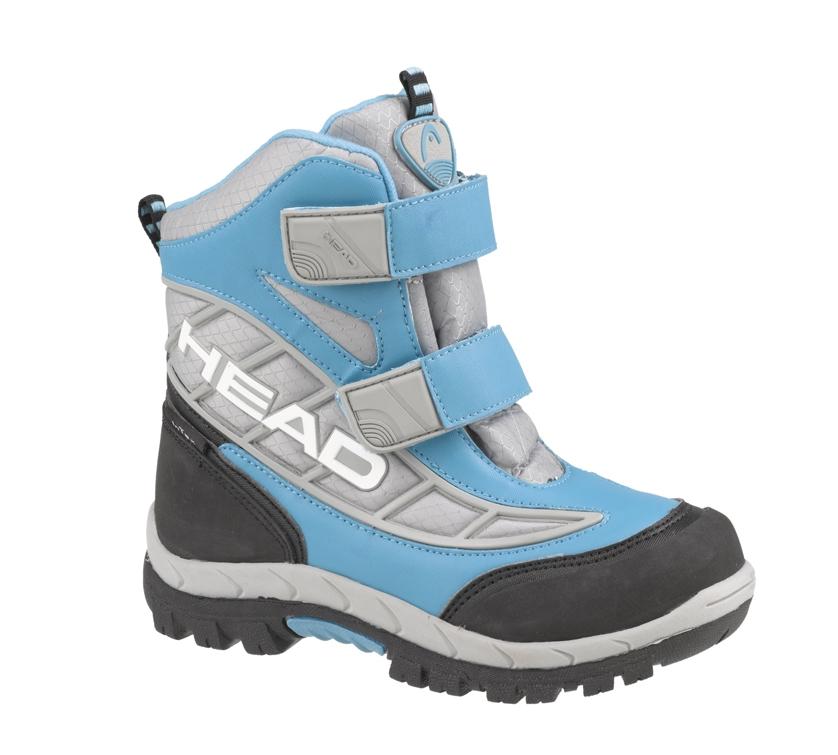 Dětské zimní boty Head 312 JR AS Barva: světle modrá, Velikost: 30
