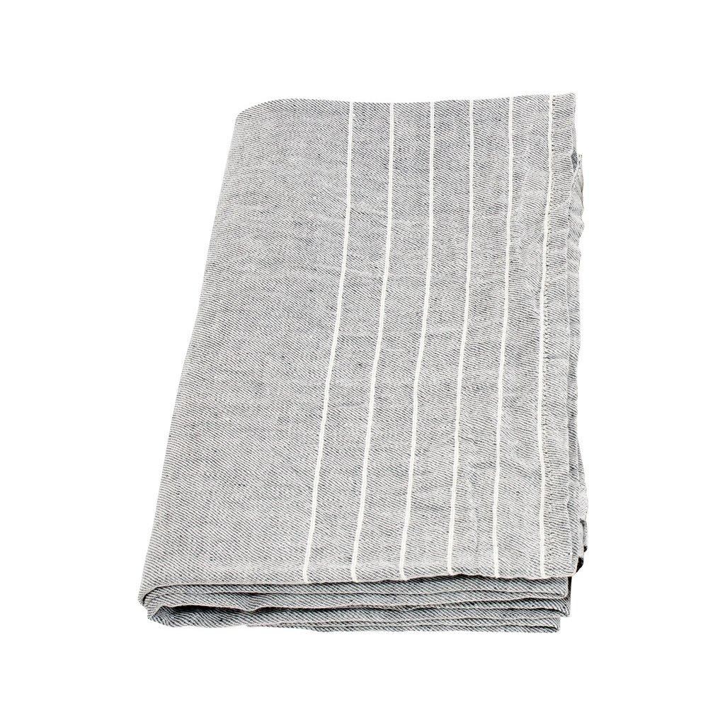 Osuška KASTE (Šedo-bílá) (Velikost 95x180cm)