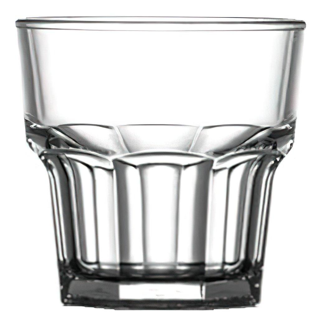 Plastová sklenice na whiskey