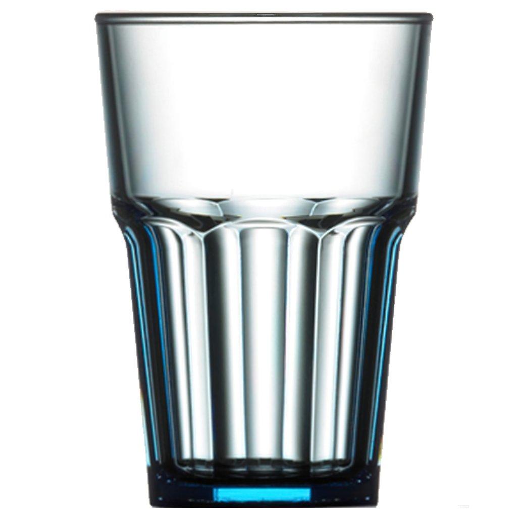 Plastová sklenice modrá