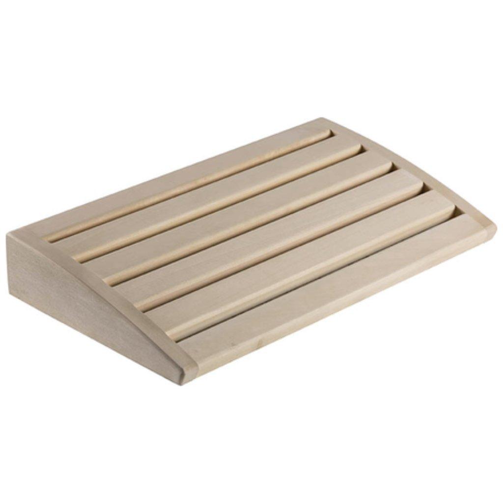 Saunový podhlavník (Materiál Lipové dřevo)