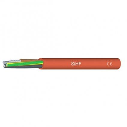 23115 silikonovy kabel sihf 5 x 4 mm2