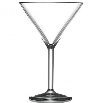 Plastová sklenice na Martini