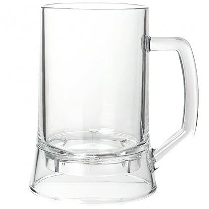 Plastová pivní sklenice