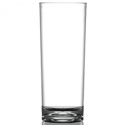 Plastová sklenice hladká na vodu